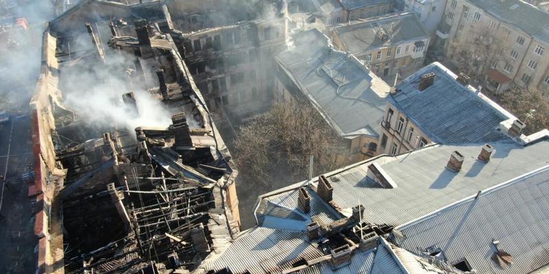У справі про пожежу в одеському коледжі поліція встановила двох підозрюваних