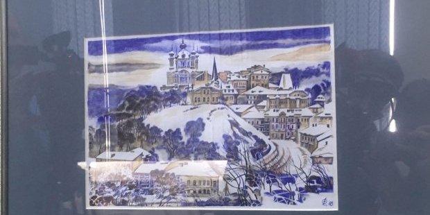 Репродукцію картини колишнього політв'язня Сущенка продали на благодійному аукціоні
