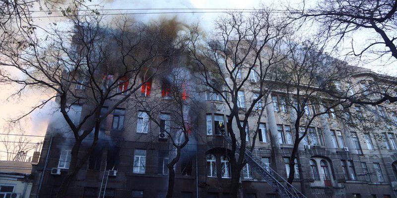 Пожежа в Одесі: 8 грудня в Україні оголосили днем жалоби