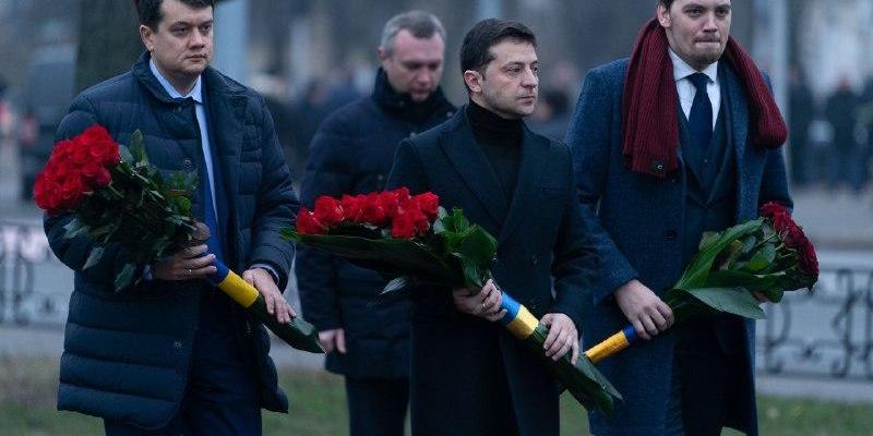 Зеленський вшанував ліквідаторів аварії на Чорнобильській АЕС