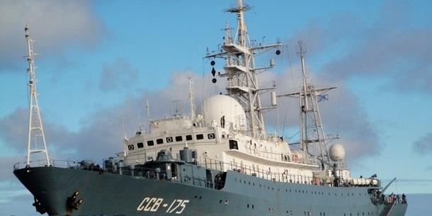 Розвідувальний корабель РФ здійснює небезпечні маневри біля узбережжя США - CNN