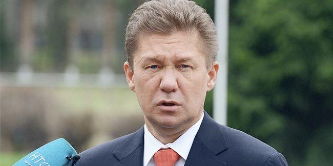Голова «Газпрому» назвав умови контракту з Україною