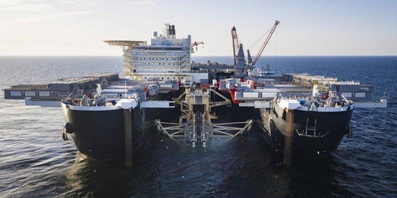 Швейцарська компанія Allseas вивела з Балтійського моря свої судна, які будували Північний потік-2