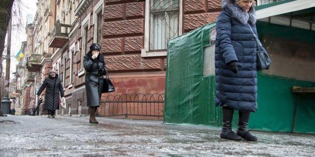 В Україні очікується ожеледиця на дорогах