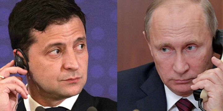 Зеленський привітав Путіна з Новим роком
