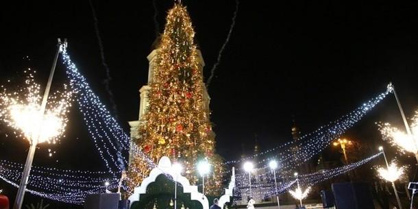 Київська ялинка увійшла в топ-5 найкрасивіших у Європі