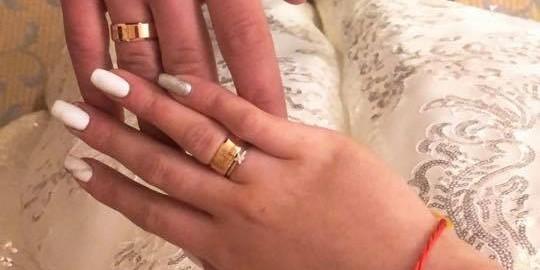 Наймолодший звільнений моряк Ейдер одружився: з'явились фото