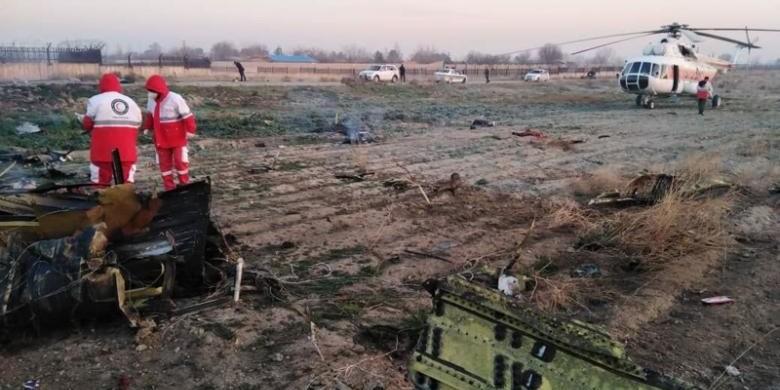 Аварія літака в Ірані: дві людини не сіли на рейс