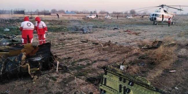 Іран збив літак МАУ двома ракетами російського виробництва