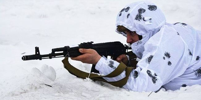 На Донбасі поранення отримав один український військовий