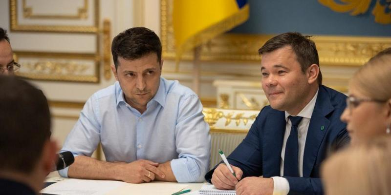 Зеленський без Богдана, – ЗМІ дізнались про конфлікти в оточенні президента