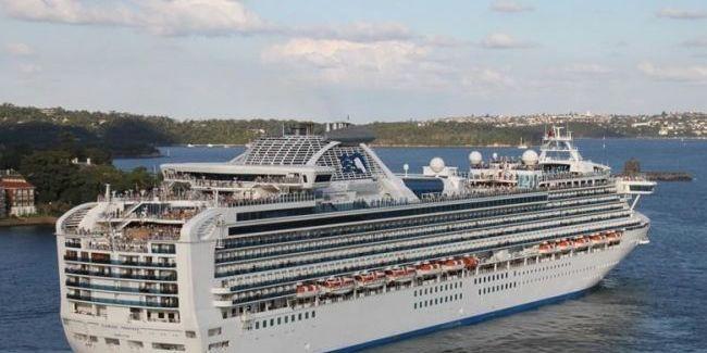 Кількість інфікованих коронавірусом на круїзному лайнері в Японії зросла до 61