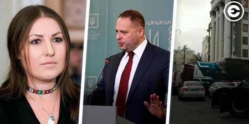 Найголовніше за день: вручення підозри нардепу Федині, брифінг нового очільника Офісу президента, протести вантажоперевізників
