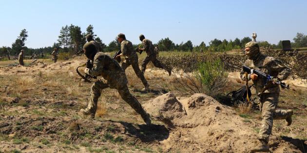 Бій на Донбасі закінчився: один загиблий та четверо поранених бійців ООС