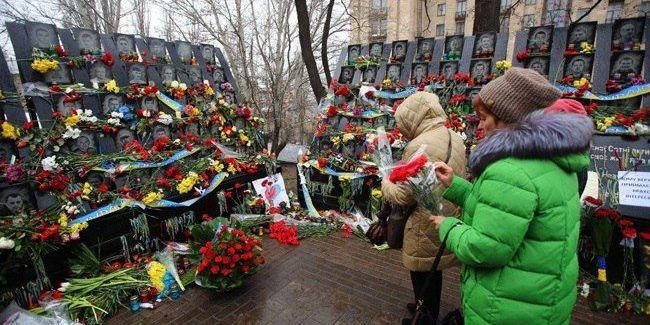 20 лютого - річниця розстрілів на Майдані Незалежності
