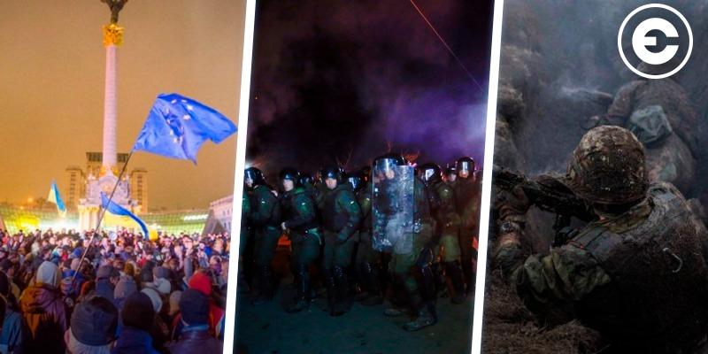 Головні новини тижня: річниця Революції Гідності, події в Нових Санжарах, загострення в зоні ООС