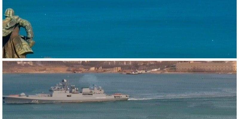 Росія з Криму направила бойові кораблі з ракетами до Сирії