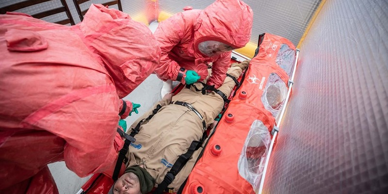 Аваков розповів про один вертоліт для транспортування ймовірних хворих на коронавірус