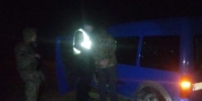 На кордоні з Польщею автомобіль намагався прорватися через кордон