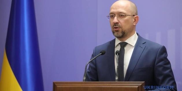 Прем'єр-міністр заявив, що Украна входить у світову економічну кризу, що була викликана поширенням коронавірусу в світі