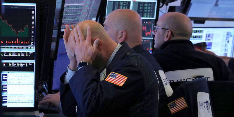 Біржі США падають: індекс Dow підтвердив «ведмежий» тренд вперше з часів фінансової кризи 2008 року