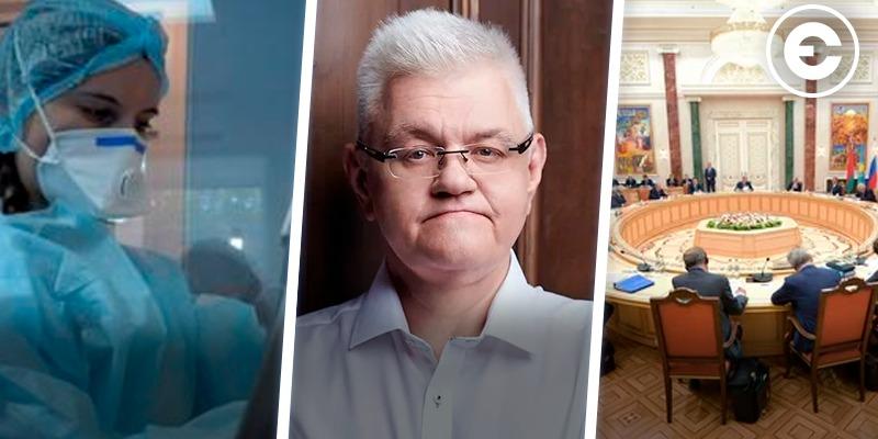 Головні новини тижня: карантин та перша смерть від COVID-19 в Україні, напад на Сивохо під час презентації платформи примирення, нові Мінські протоколи