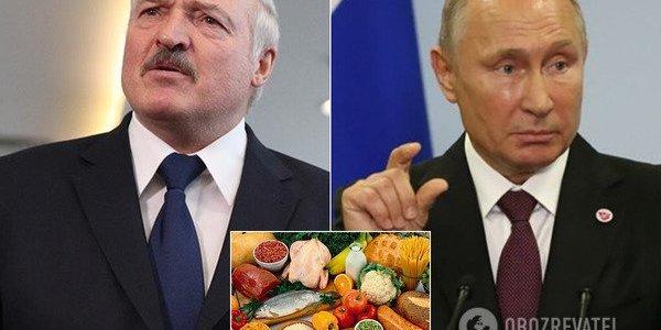 Росія звернулася до Білорусі з проханням про постачання продуктів
