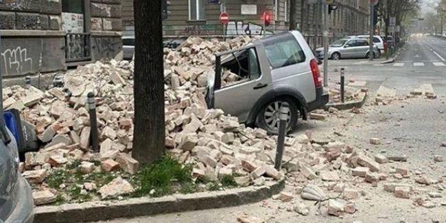 Біля столиці Хорватії сталися два землетруси магнітудою 5,3 і 5