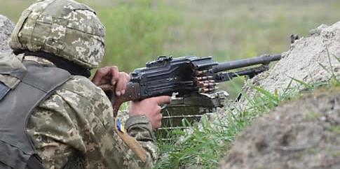 Двоє бійців ОС отримали поранення на Донбасі
