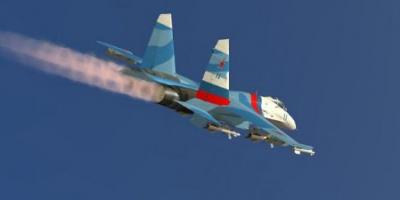 Російський винищувач Су-27, за попередніми даними, впав у Чорне море, льотчика шукають