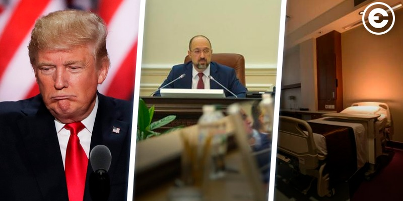 Найголовніше за день: Трамп відправляє американців працювати, зміни до держбюджету та VIP-палати для чиновників з коронавірусом
