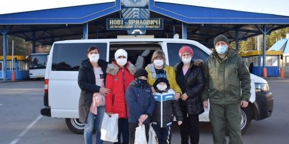 Прикордонники допомогли 39 українцям повернутися з Білорусі до Києва