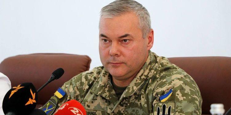 Президент Зеленський призначив Сергія Наєва Командувачем об'єднаних сил Збройних Сил України