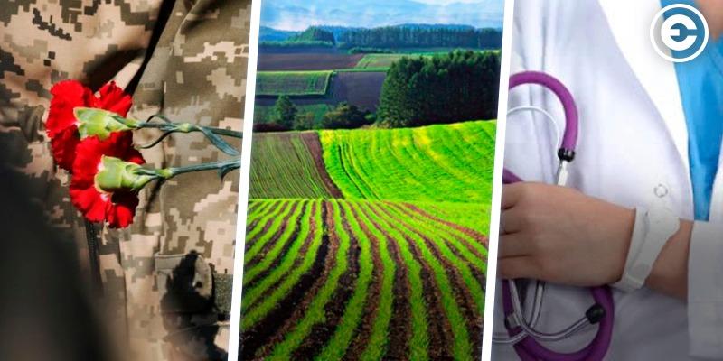 Найголовніше за день: загибель бійця в зоні ООС, Рада проголосувала за відкриття ринку землі, коронавірус у 27 медиків на Тернопільщині