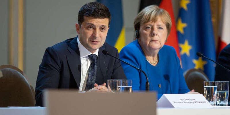 Зеленський домовився з Меркель про 150 млн євро кредиту для України для боротьби з коронавірусом