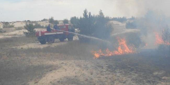 Пожежа в Чорнобильській зоні поширилася на територію понад 100 гектарів