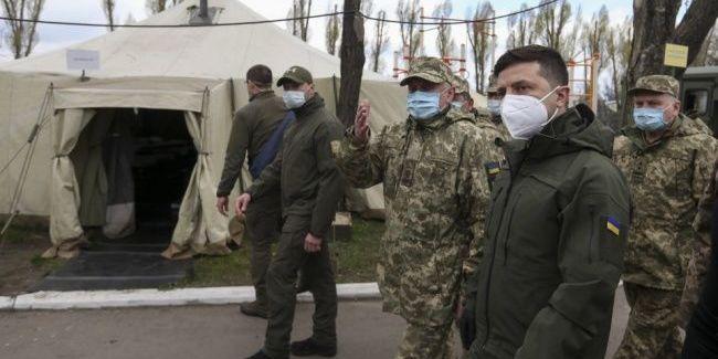 Зеленський відвідав ділянку розведення сил на Донбасі