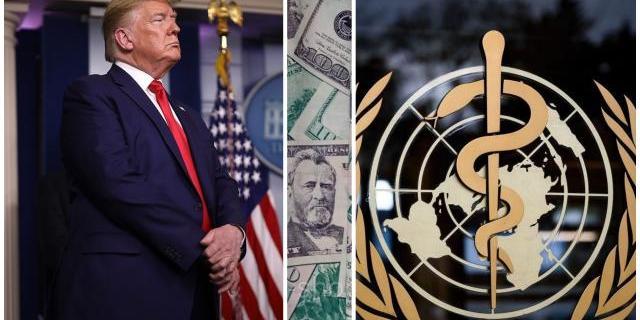 Трамп припинив фінансування ВООЗ