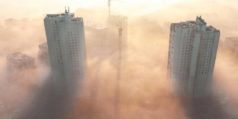 Київ третій день лідирує за рівнем забруднення повітря у світі