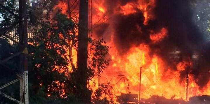 Рятувальники не можуть дістатися до найскладнішого місця пожежі в Чорнобильській зоні
