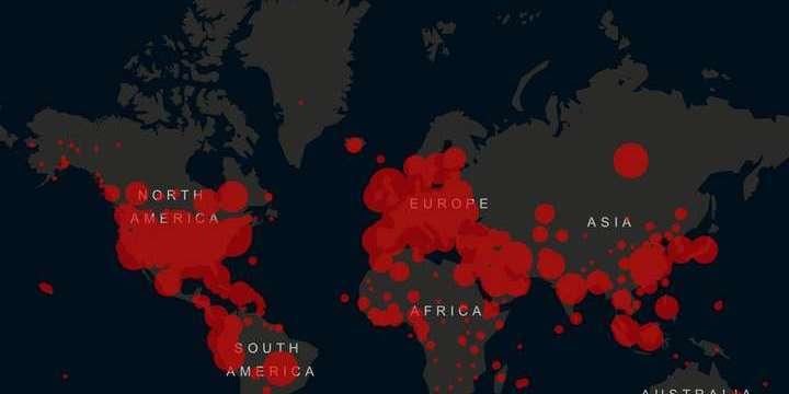 У світі на коронавірус захворіли вже майже 3 млн людей