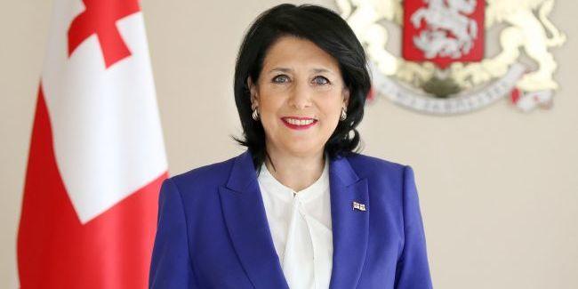 Президентка Грузії закликала Київ не призначати Саакашвілі на посаду в український уряд
