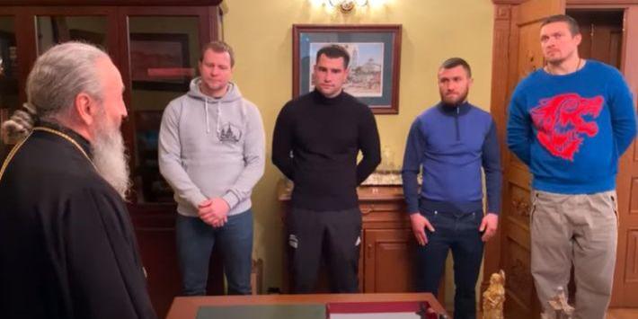 Усик та Ломаченко знялися в російському пропагандистському фільмі про віру