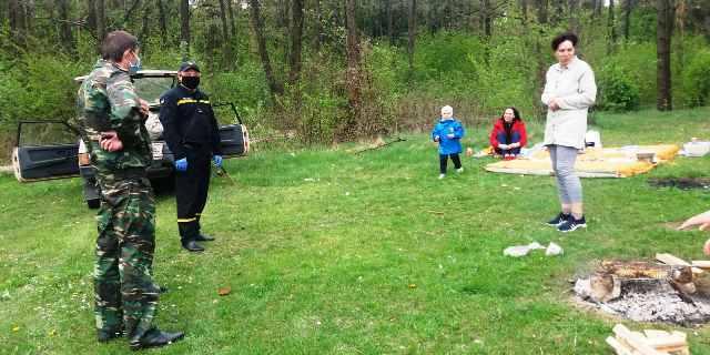 На Житомирщині ДСНС, поліція та лісівники проводять «святкові» рейди