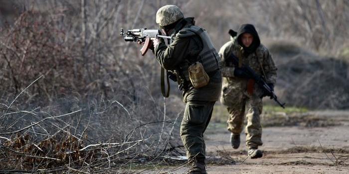 ЗСУ дали бій терористам на Донбасі