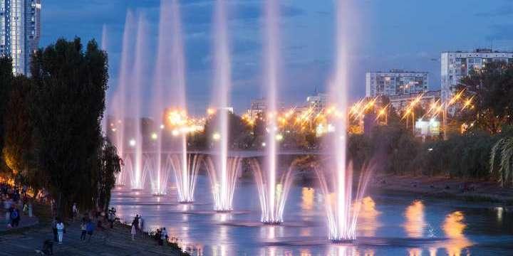 Столичні водограї розпочнуть роботу на День Києва