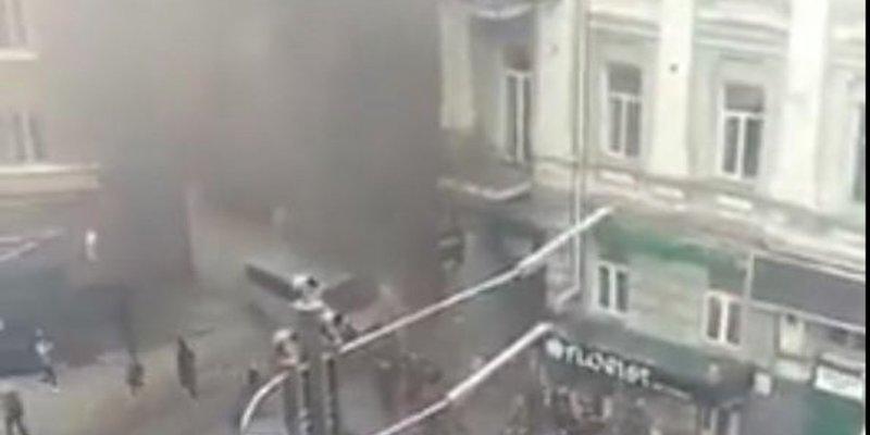 Біля офісу Медведчука пролунав вибух: речник депутата каже, що є потерпілі