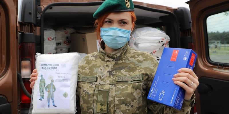Євросоюз передав українським прикордонникам засоби захисту на майже мільйон гривень