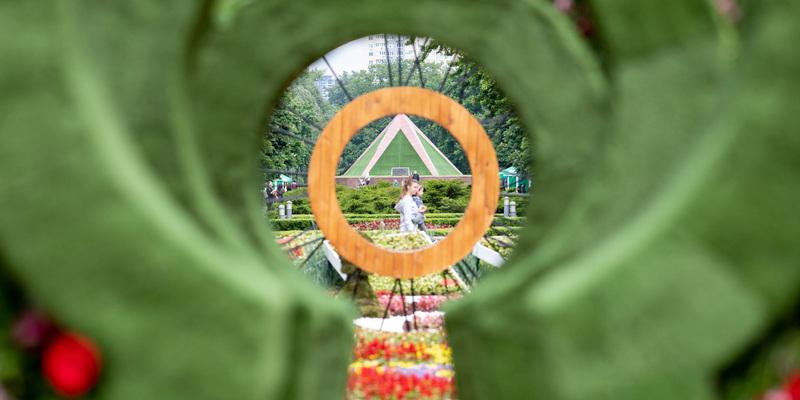 У Києві відкрили унікальну виставку «Аліса в країні див», для створення якої використали 50 тисяч квітів